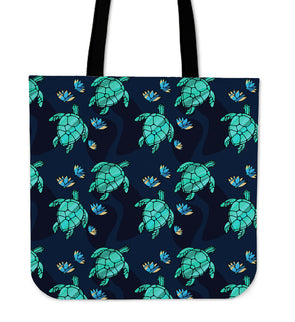 Turtle Love Premium Tote Bag | woodation.myshopify.com