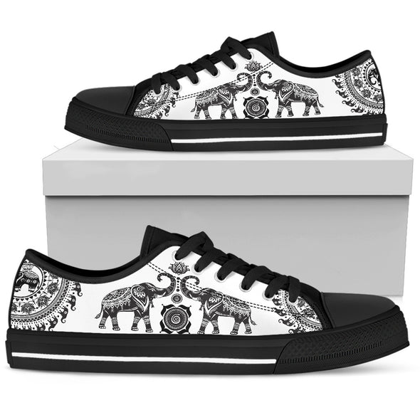 Elephant Mandala Shoes | woodation.myshopify.com