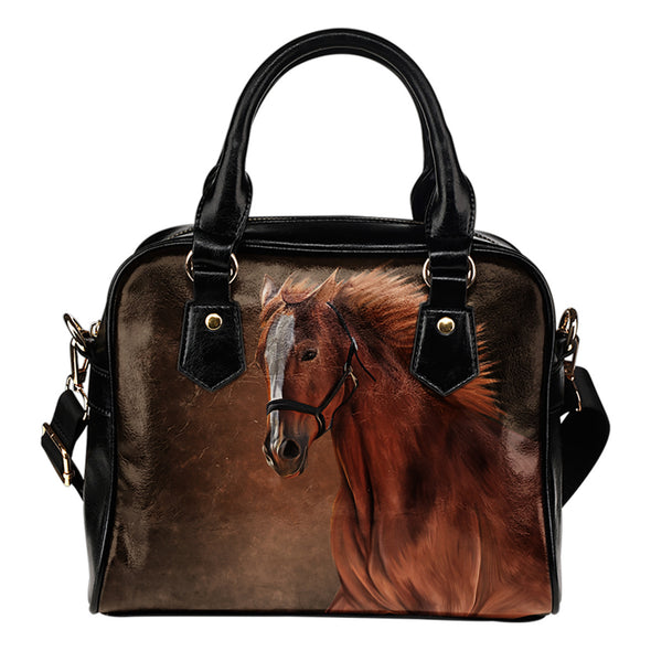 Freedom Horse Shoulder Bag | woodation.myshopify.com