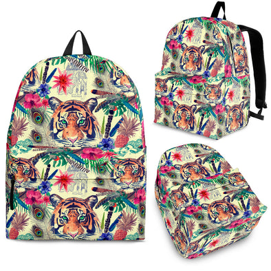 Bohemian Tiger Backpack | woodation.myshopify.com