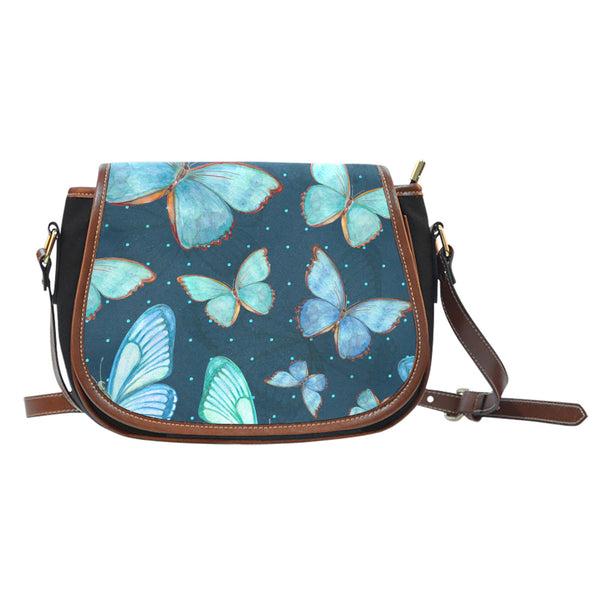 Butterfly Love Saddle Bag