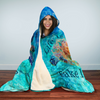 Bohemian Turtle Hooded Blanket | woodation.myshopify.com