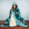 Ying Yang Turtle Hooded Blanket | woodation.myshopify.com