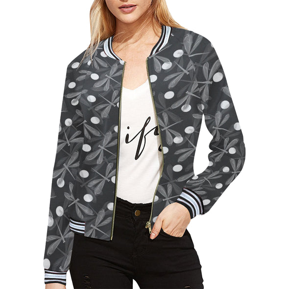 Spiritual Dragonfly Casual Jacket | woodation.myshopify.com