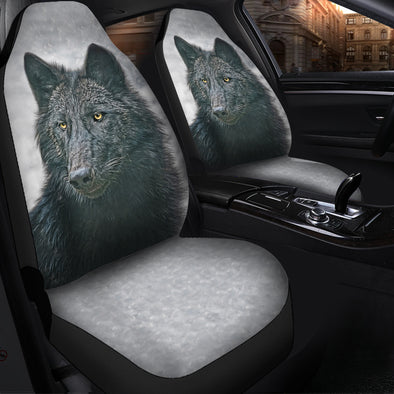 Spiritual Wolf Car Seat Covers