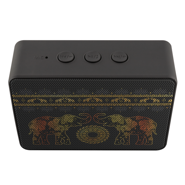 Golden Mandala Boxanne Speaker | woodation.myshopify.com