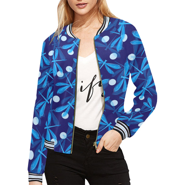 Spiritual Dragonfly Casual Jacket