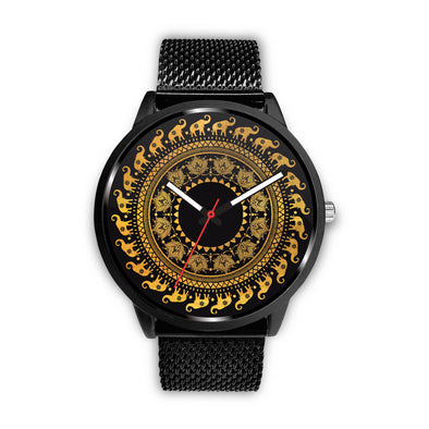 Golden Mandala Premium Watch