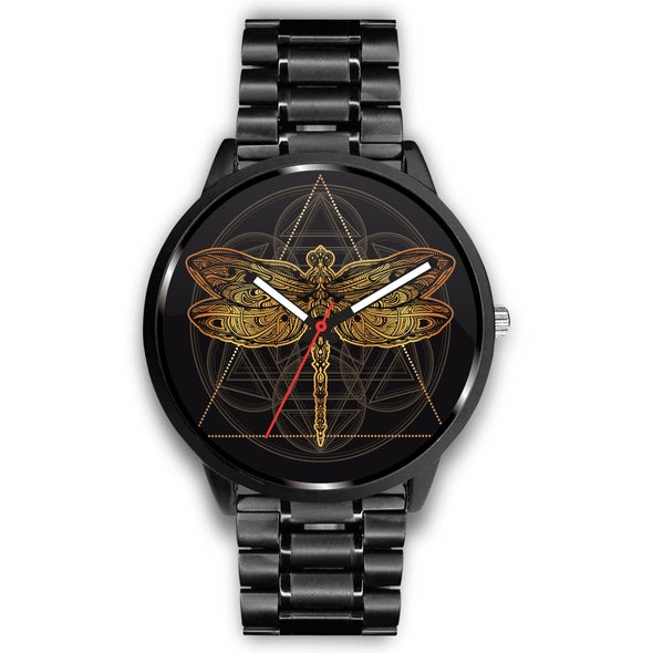 Spiritual Dragonfly Premium Watch | woodation.myshopify.com