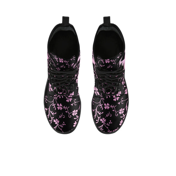 Breast Cancer Awareness Boots | woodation.myshopify.com