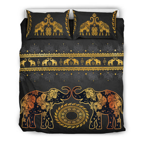 Golden Mandala Bedding Set | woodation.myshopify.com
