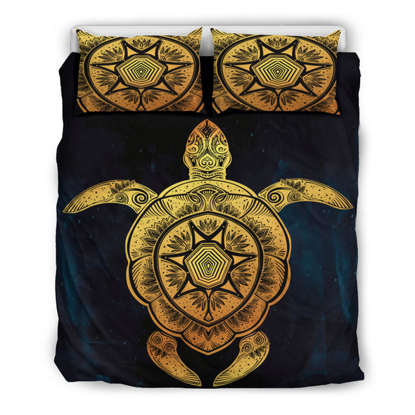 Cosmic Turtle Bedding Set | woodation.myshopify.com