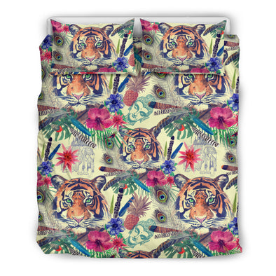 Bohemian Tiger Bedding Set