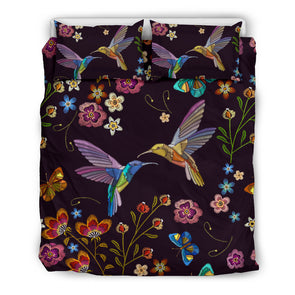 Bohemian Hummingbird Bedding Set