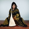Golden Mandala Hooded Blanket | woodation.myshopify.com