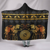 Golden Mandala Hooded Blanket