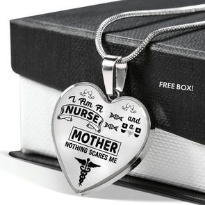Mother Nurse - Heart Necklace