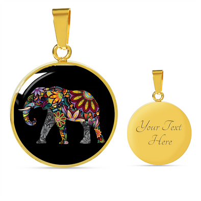 Bohemian Elephant Luxury Necklace | woodation.myshopify.com