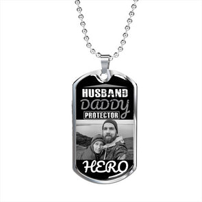 Personalized Military Necklace