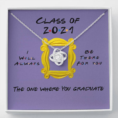 Class Of 2021 - Love Knot Necklace