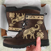 Lotus Elephant Boots | woodation.myshopify.com
