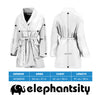 Spiritual Dragonfly Bathrobe