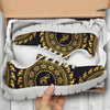 Golden Mandala Elephant Sneakers