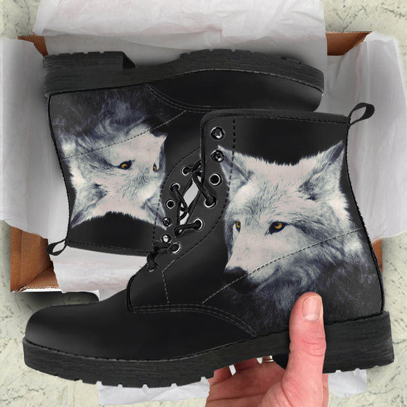 Mystical Wolf Boots