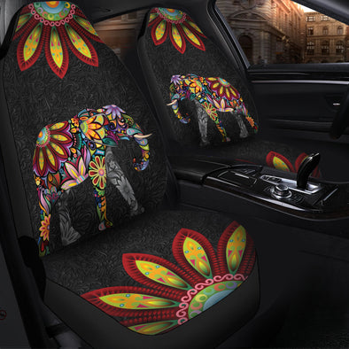 Bohemian Elephant Car Seat Covers