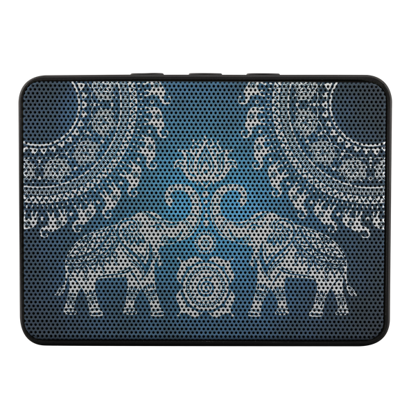 Elephant Mandala Boxanne Speakers | woodation.myshopify.com