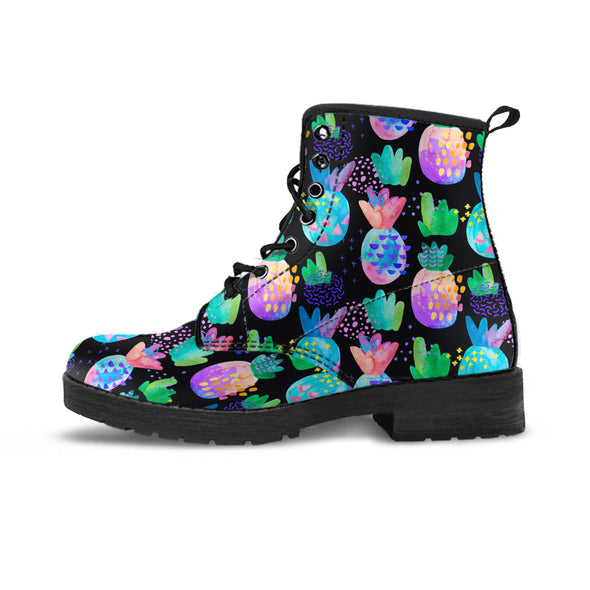 Pineapple Love Boots | woodation.myshopify.com