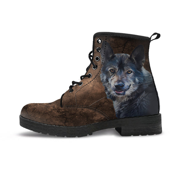 Men's Wild Wolf Boots | woodation.myshopify.com