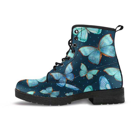 Spiritual Butterfly Boots | woodation.myshopify.com