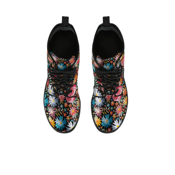 Bohemian Floral Boots