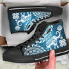 Blue Mandala Elephant Shoes