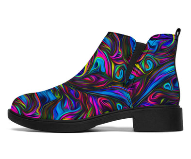 Acid Style Chelsea Style Boots