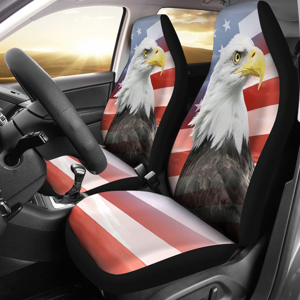 Patriot Eagle Car Seat Covers