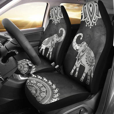 Elephant Love Car Seat Covers | woodation.myshopify.com