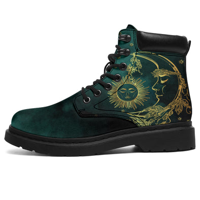 Emerald Sun & Moon All-Season Boots