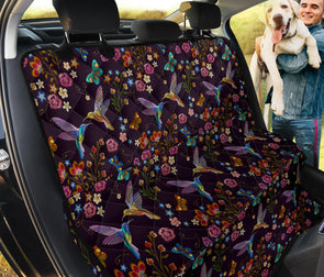 Bohemian Hummingbird Pet Seat Cover