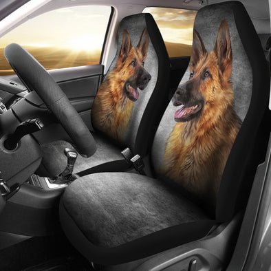 German Sheperd Car Seat Covers