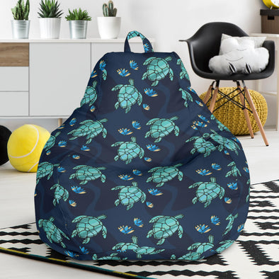 Turtle Love Bean Bag Chair