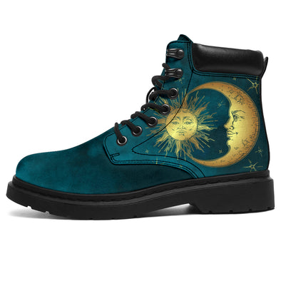 Bohemian Sun & Moon All-Season Boots