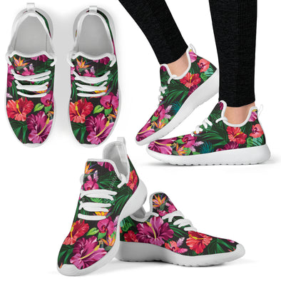 Floral Hibiscus Performance Sneakers