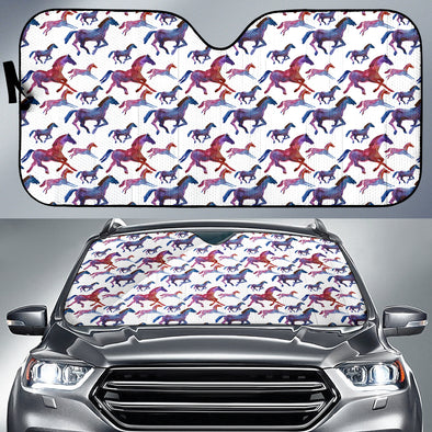 Horse Love Auto Sun Shades | woodation.myshopify.com