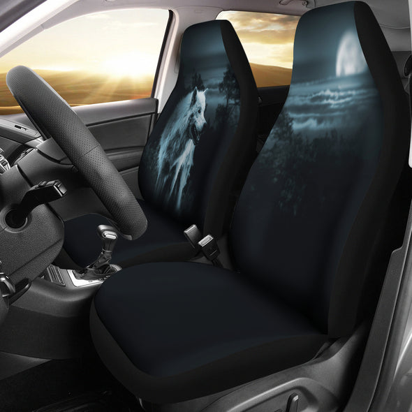 Mystical Wolf Car Seat Covers