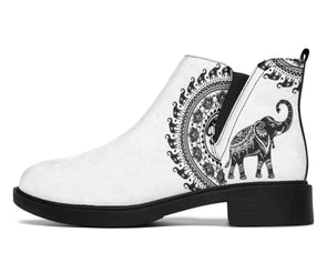 Good Fortune Elephant Chelsea Style Boots