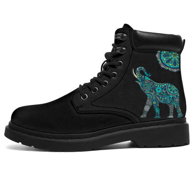 Lucky Mandala Elephant All-Season Boots