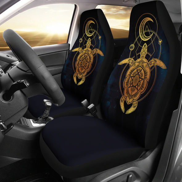 Lunar Turtle Car Seat Covers