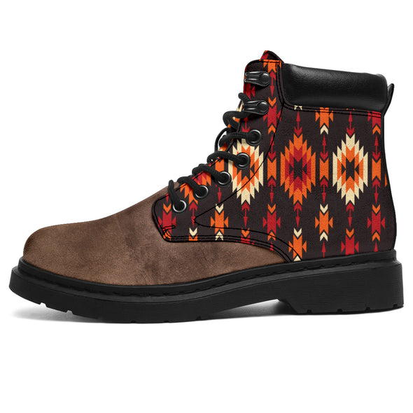 Tribal Aztec All-Season Boots